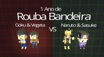 Kogama – Goku VS Naruto – Rouba Bandeira