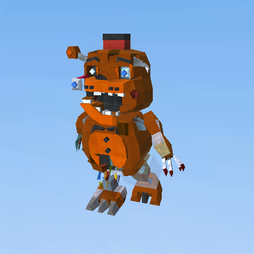 Old Toy Freddy : Old toy freddy j f kogama play create and share