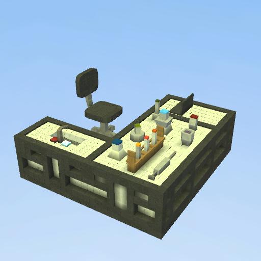 Play Create And Share Multiplayer: Mesa De Laboratório