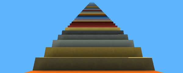 Kogama Escada para a lua e para o park