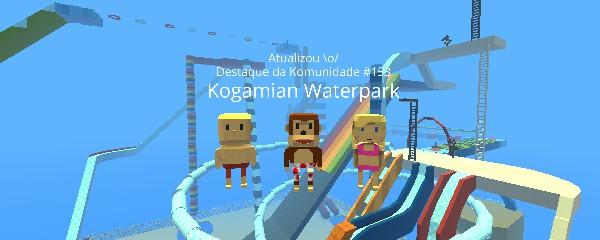 Jogo Kogamian Waterpark – novoclickjogos.com