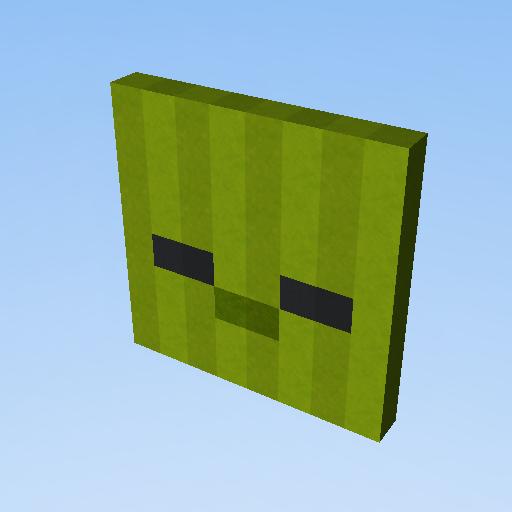 rosto do zumbi do minecraft shxo kogama play create and share